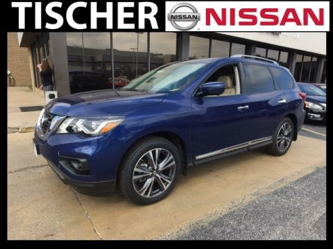 New 2017 Nissan Pathfinder Platinum 4WD